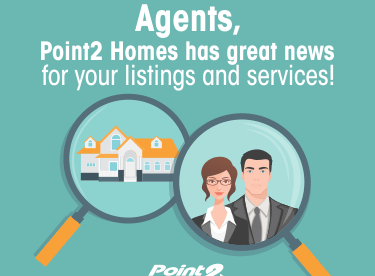 Are You or Your Listings Featured on Point2 Homes? Here's some great news for you!