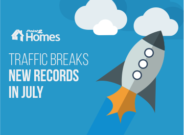 Point2 Homes Traffic Smashes Previous Records