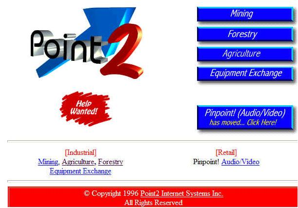 Point2's Original Website