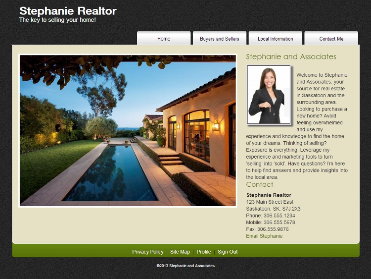 Real Estate Website Templates - Chancellor