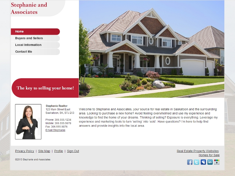 Real Estate Templates - McKinley