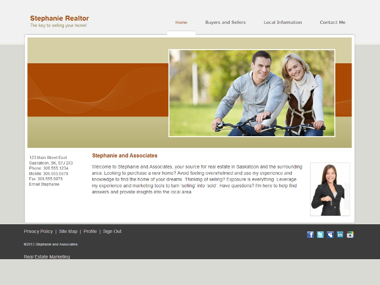 Real Estate Website Template - Resolute