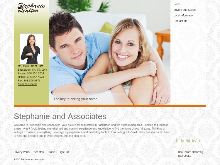 Realtor Website Templates - Serendipity
