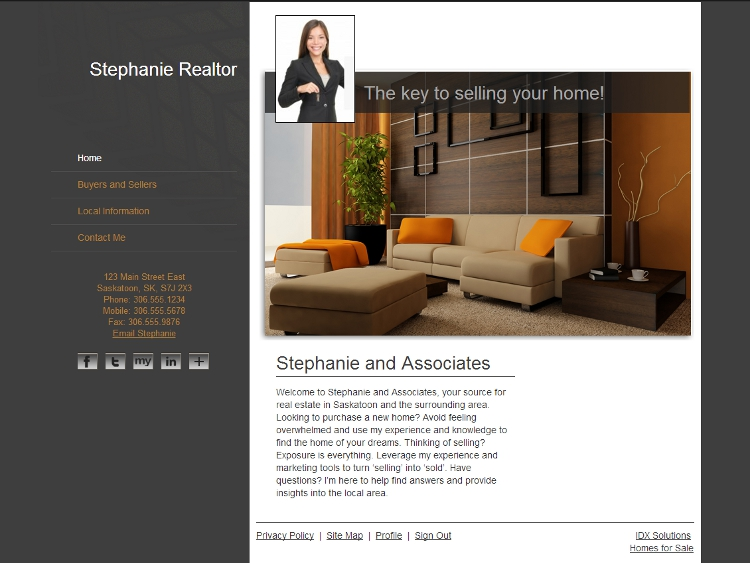 Real Estate Web Design - Splendor