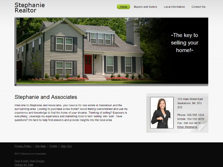 Real Estate Website Templates - Tradition