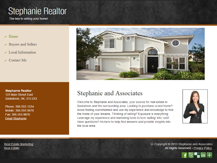 Realtor Website Design - Conviction