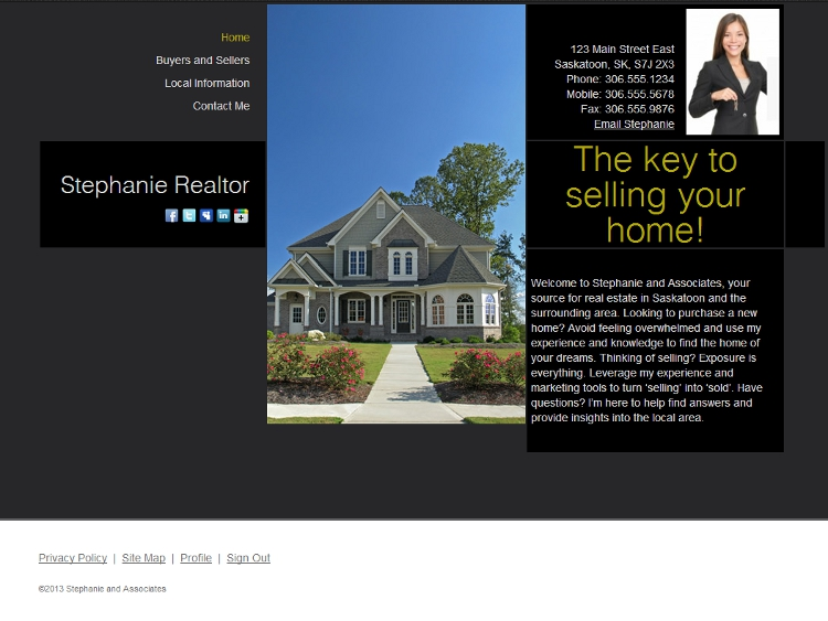 Realtor Website Templates - Everest