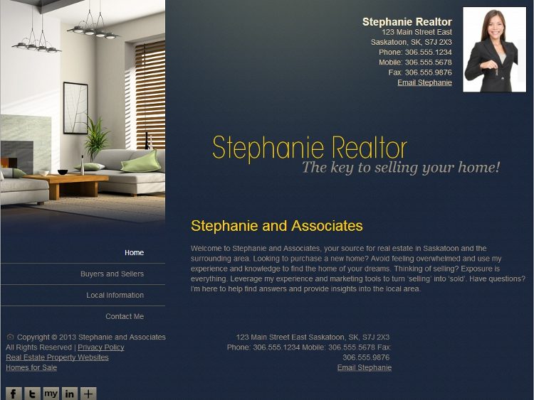 Real Estate Website Template - Expanse