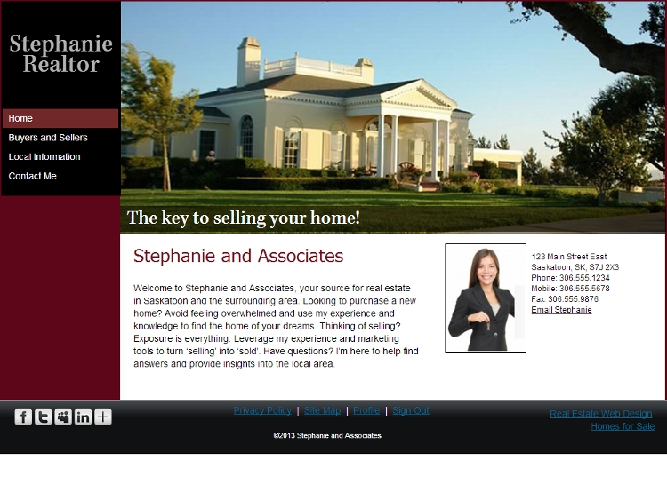 Real Estate Website Templates - Loyalty