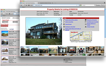 Real Estate IDX Website Sample