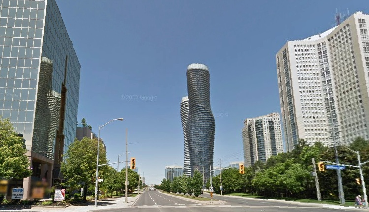 Tall City Buildings Street View How Much Has Mississauga 39 S Skyline