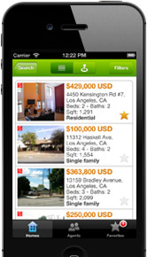 Point2 Homes iPhone App.