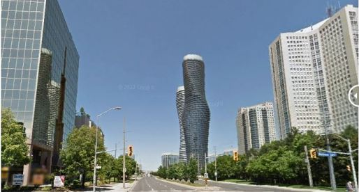 How Much Has Mississauga's Skyline Changed since 2007? (Google StreetView Images)