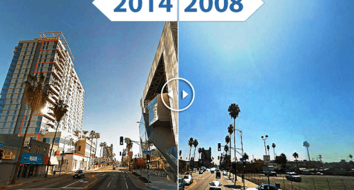 L.A. Old and New: 5 Time-Lapse Images Show City's Changing Skyline