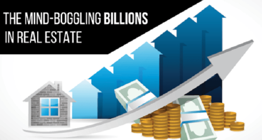 Real Estate Infographic: See Where the Billions Go