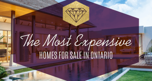 Ontario's Finest: Catch a Glimpse of the Top 10 Most Expensive Homes