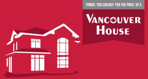 8 Amazing Things You Could Buy for the Price of One House in Vancouver