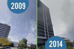 10 Then and Now Images of Kelowna's Redevelopment Boom