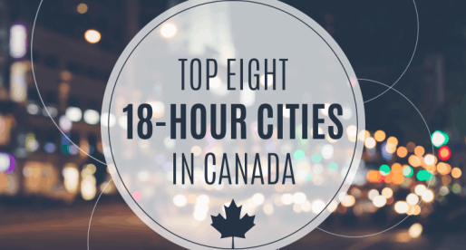 Canada's Top 18-Hour Cities – Emerging Places to Be