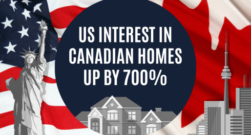 Post US Election Results, Interest in Homes in Canada Sees Sharp Increase