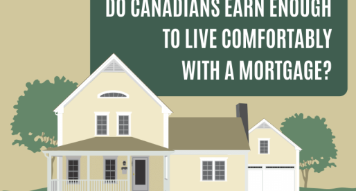 Do Canadians Earn Enough to Live Comfortably with a Mortgage?