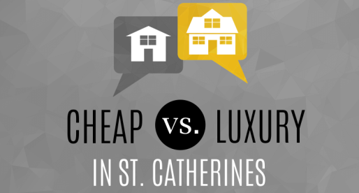 Real Estate Extremes: Cheap vs. Luxury in St. Catharines