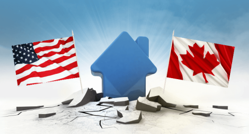 What Happened to the Canadian Real Estate after the U.S. Crash
