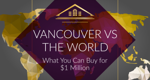 Vancouver Versus the World: What You Can Buy for $1 Million