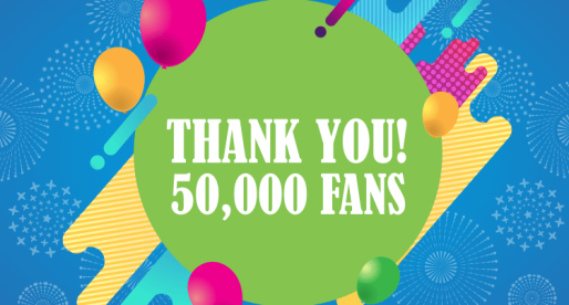 A Warm Thank You to All Our 50,000 Facebook Fans!