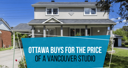 5 Houses You Can Buy in Ottawa for the Price of a Vancouver Studio