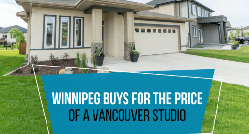 5 Houses You Can Buy in Winnipeg for the Price of a Vancouver Studio