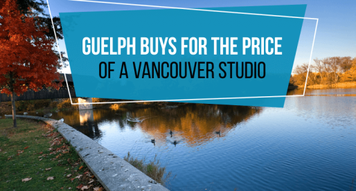 5 Homes You Can Buy in Guelph for the Price of a Vancouver Studio
