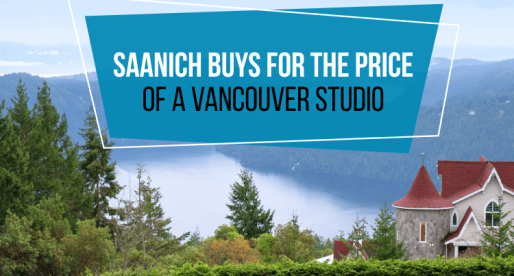 5 Homes You Can Buy in Saanich for the Price of a Vancouver Studio