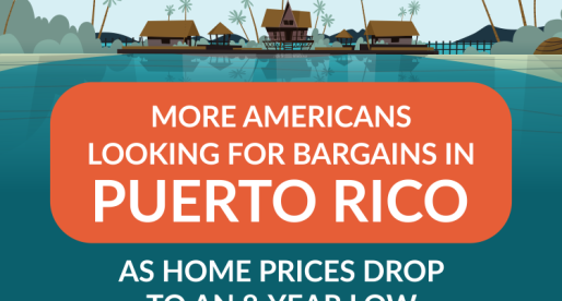 More Americans Looking for Bargains in Puerto Rico as Home Prices Drop to an 8-Year Low
