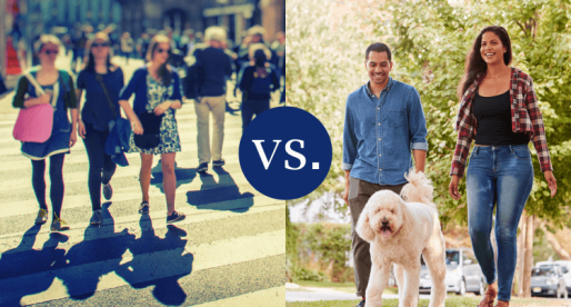 House Hunting: Should You Choose the City or the Suburbs?