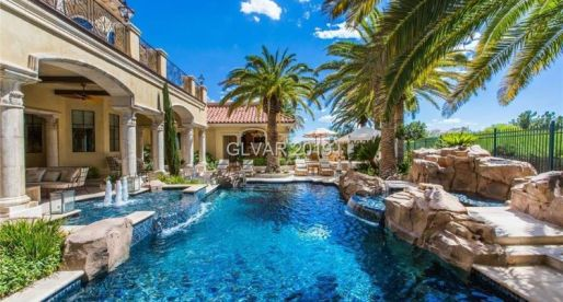 Las Vegas' 10 Most Expensive Homes for Sale Are Picture-Perfect Luxury Icons