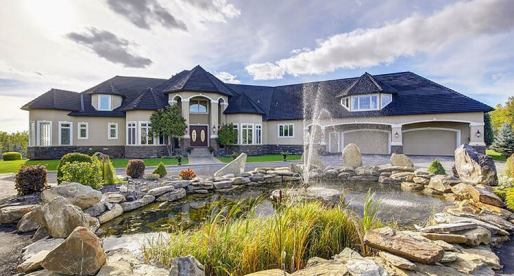 Spectacular Hilltop Estate for Sale in Bearspaw, AB