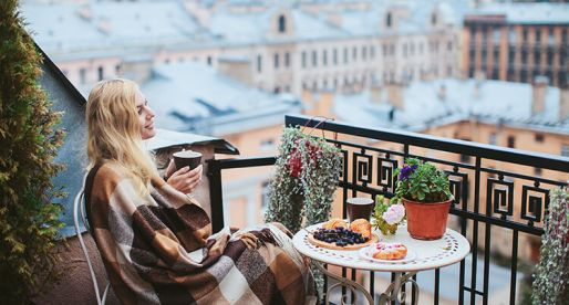 How to Turn Your Balcony into a Cold Season Haven
