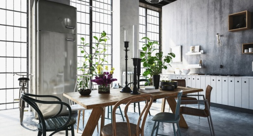 Mixing Home Design Styles: Farmhouse & Industrial