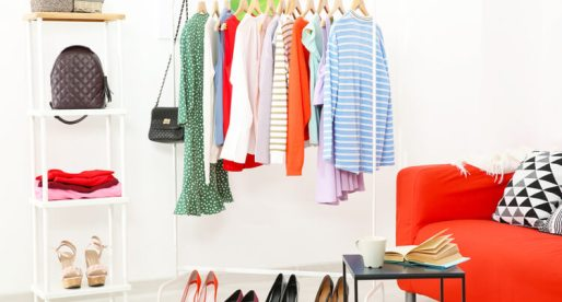 Don't Have a Dressing Room? Here Are 6 Creative Ways to Store Clothes & Shoes