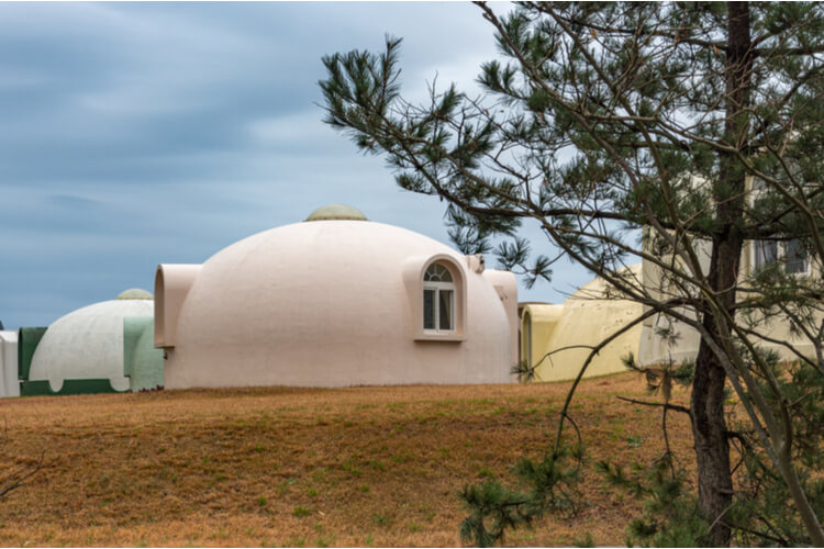 Dome Houses in Japan