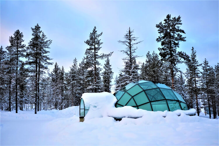 Glass Igloo Homes in Finland