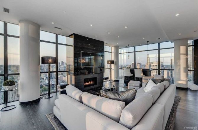 House of the Week: Luxurious Gem in the Sky in Toronto