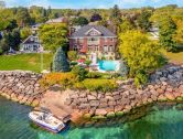 House of the Week: Custom-Built Waterfront Estate in Burlington
