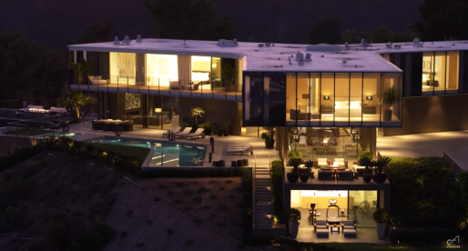 Famous Houses: The Orum House, an Architectural Stunner in Bel Air