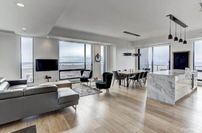 Rental of the Week: Amazing Penthouse with Stunning Views of Downtown Montreal