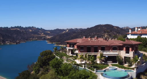 Famous Houses: Casa Lago, a Slice of the Italian Resort Life in Bel Air