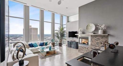 House of the Week: Modern High-Rise Condo with Incredible Views of Downtown Fort Worth