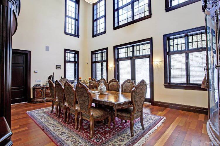 Westmount, Montreal, dining space