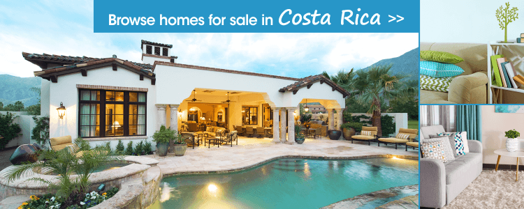 Browse homes for sale in Costa Rica